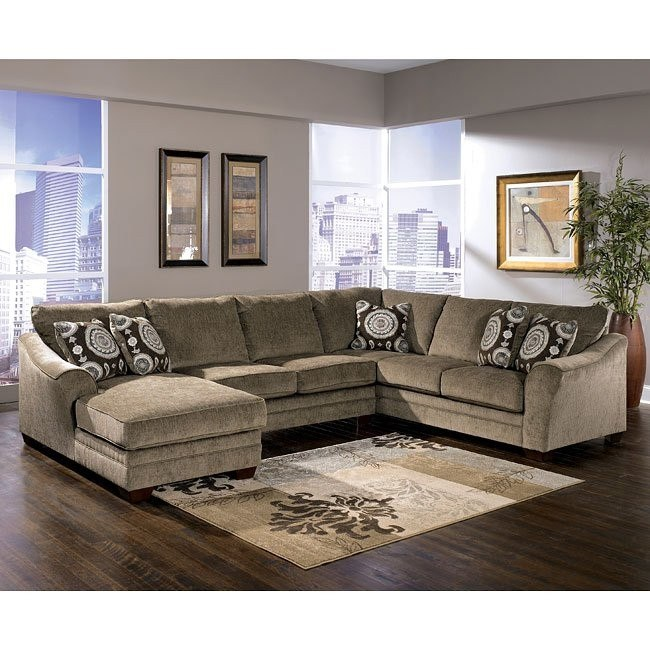 Cosmo - Marble Left Chaise Sectional
