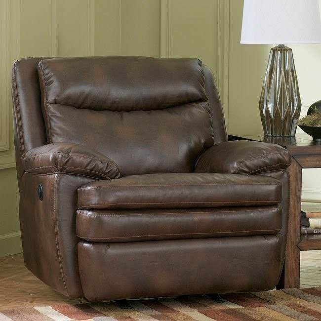 Slater DuraBlend - Sedona Rocker Recliner w/ Power