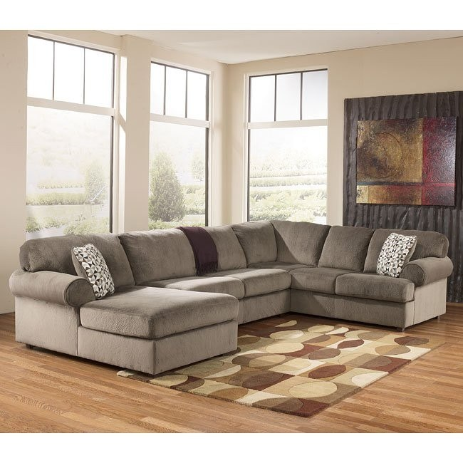 Jessa Place Dune Left Chaise Sectional