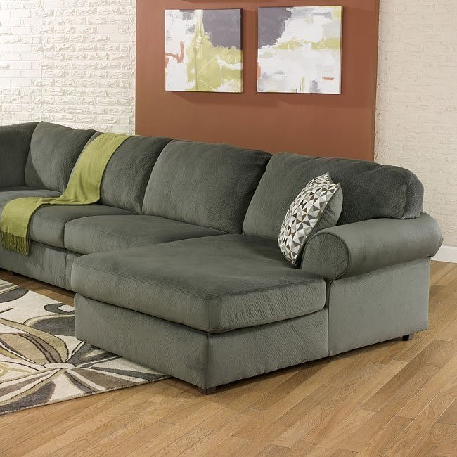 Jessa Place Pewter Modular Sectional