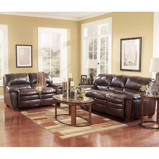 Premier DuraBlend - Redwood Living Room Set