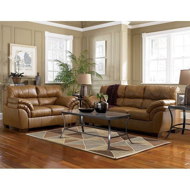 Warren - Nutmeg Living Room Set