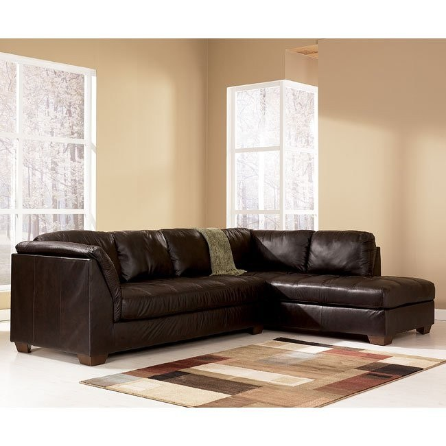Harrington - Chocolate Right Chaise Sectional