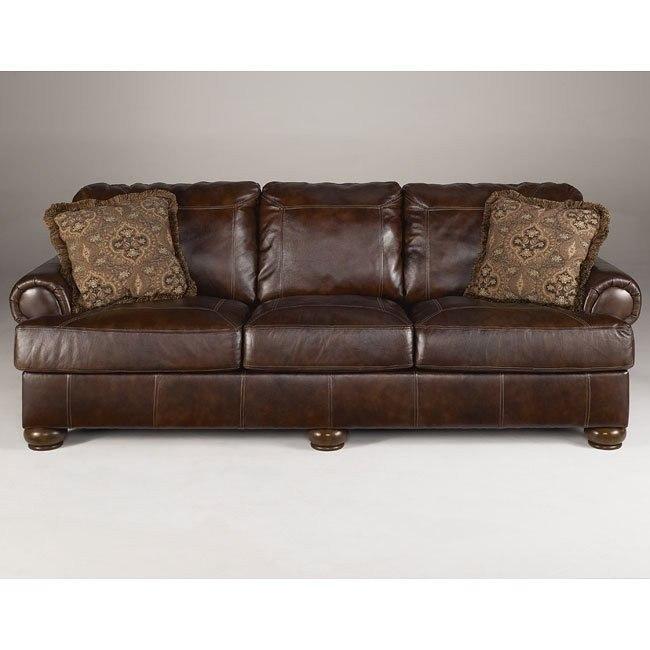 Axiom - Walnut Sofa