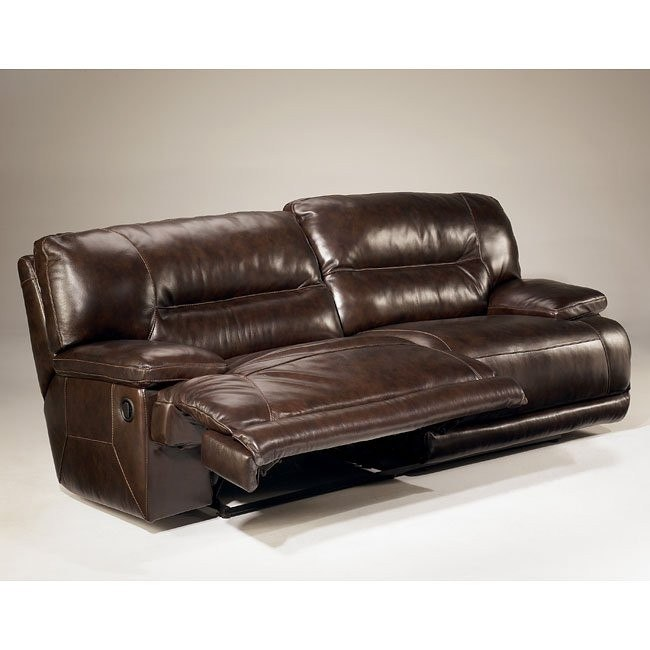 Exhilaration - Chocolate 2-Seat Reclining Sofa w/ Power