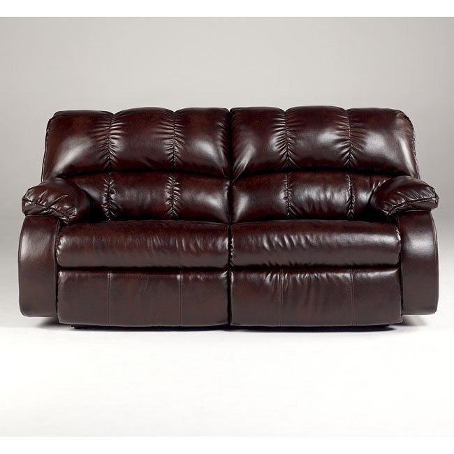 Knockout DuraBlend - Redwood 2-Seat Reclining Sofa