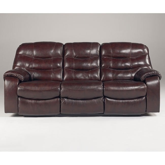 Rourke - Burgundy Reclining Sofa