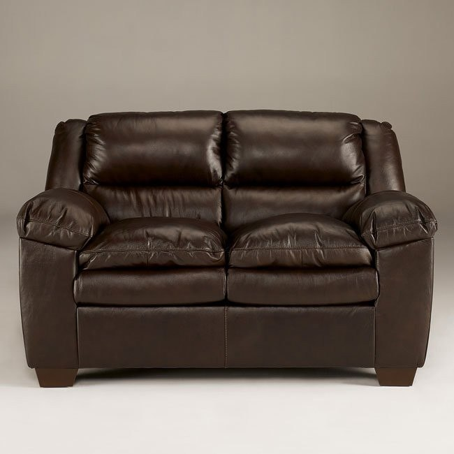 Ronan - Brown Loveseat