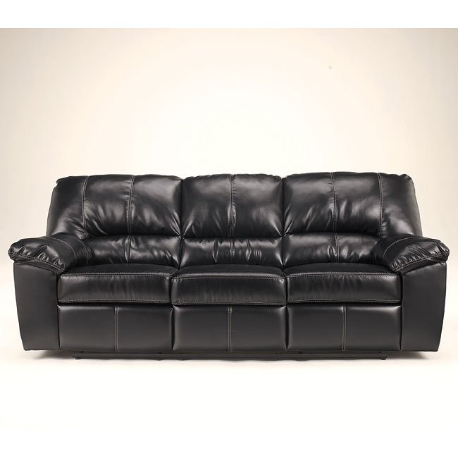 DuraBlend - Black Reclining Sofa