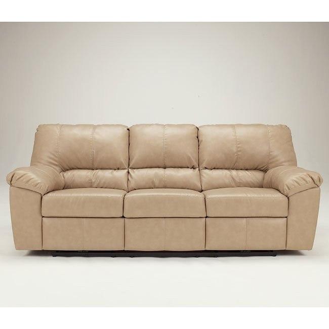 DuraBlend - Natural Reclining Sofa w/ Power