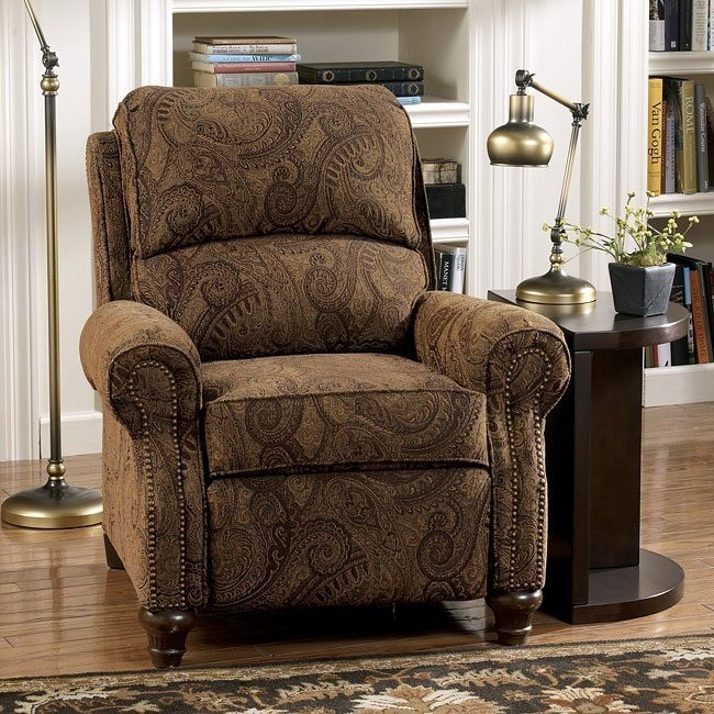 Deanville - Antique Low Leg Recliner
