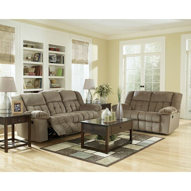 Lowell - Toffee Reclining Living Room Set