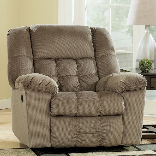 Lowell - Toffee Rocker Recliner