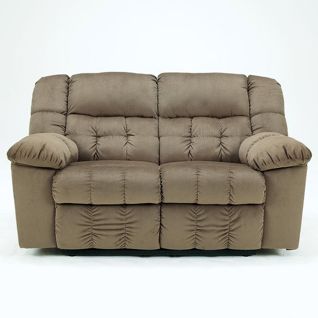 Lowell - Toffee Reclining Loveseat