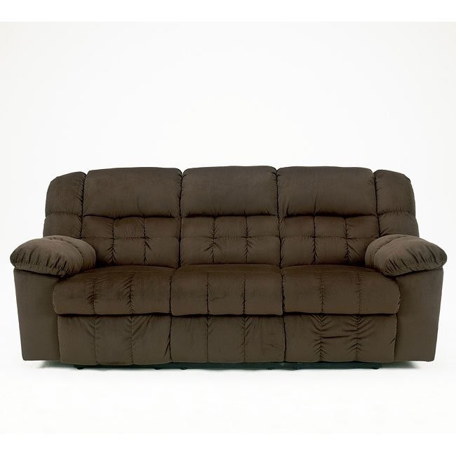 Lowell - Chocolate Reclining Sofa
