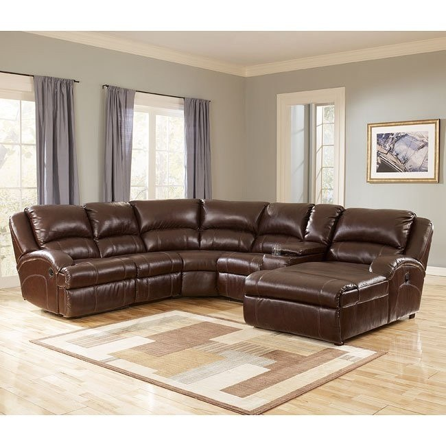 DuraBlend - Harness Reclining Right Chaise Sectional