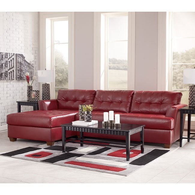 Dixon DuraBlend - Scarlett Sectional Living Room Set