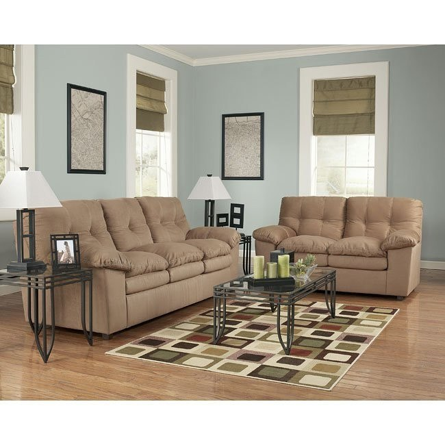 Mercer - Mocha Living Room Set