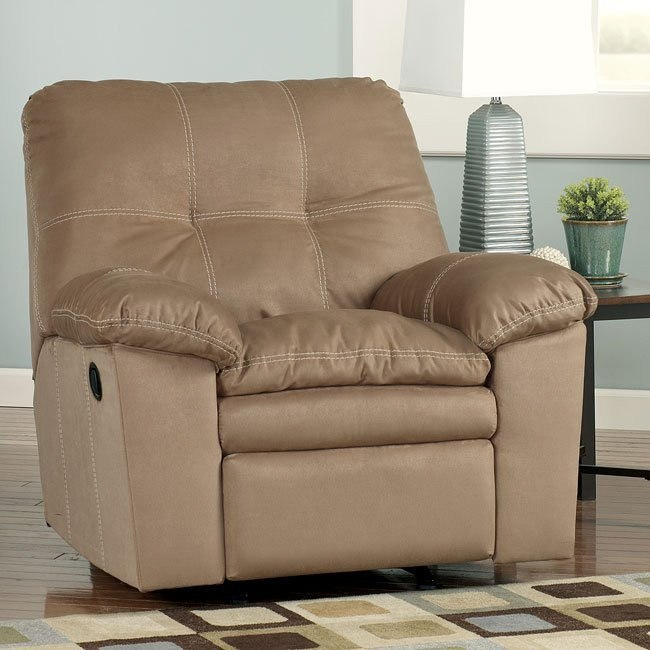 Mercer - Mocha Rocker Recliner