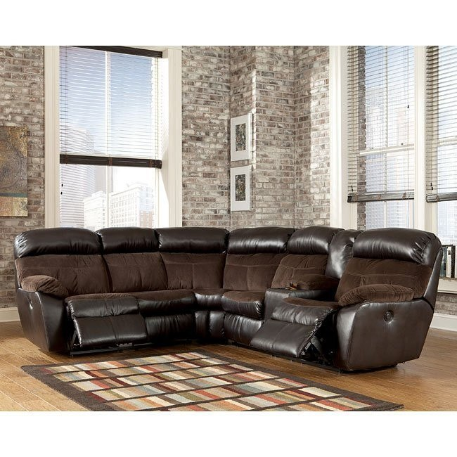 Berneen Coffee Power Reclining Sectional