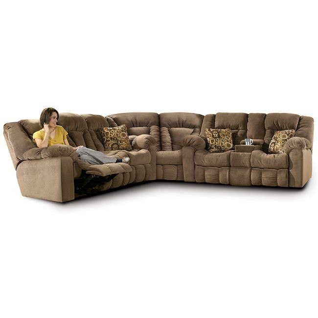 Macie - Brown Reclining Sectional