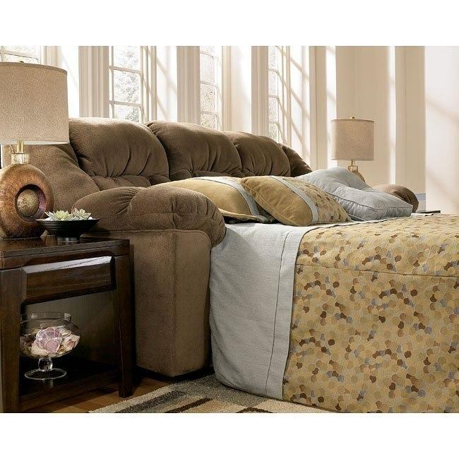 Macie - Brown Full Sofa Sleeper
