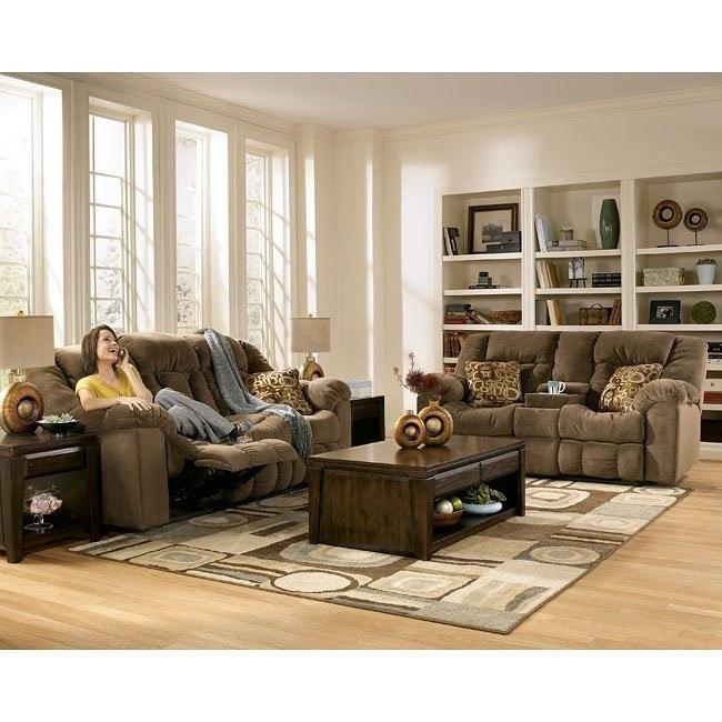 Macie - Brown Reclining Living Room Set