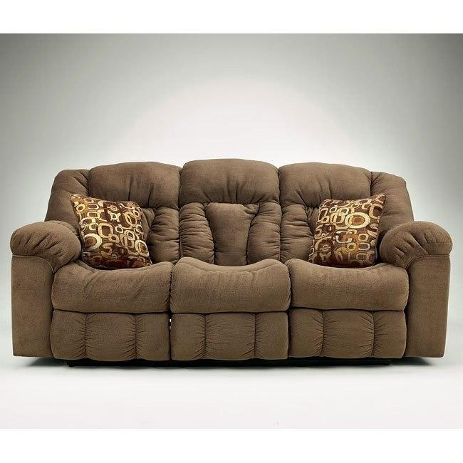 Macie - Brown Reclining Sofa