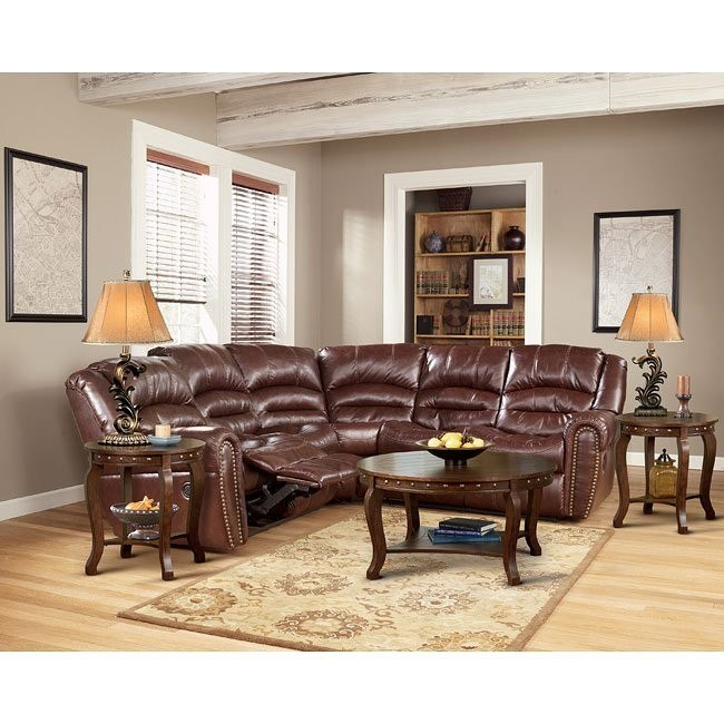 Wesley - Sienna Reclining Sectional