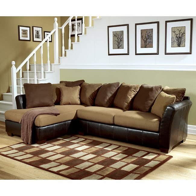 Lawson - Saddle Left Facing Chaise Sectional