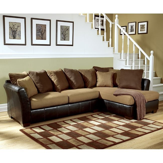 Lawson - Saddle Right Facing Chaise Sectional