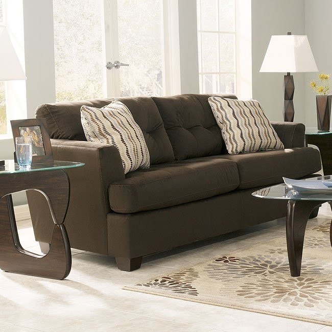 Dallas - Chocolate Queen Sofa Sleeper