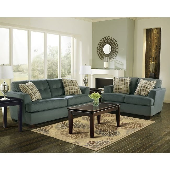 Dallas - Steel Living Room Set