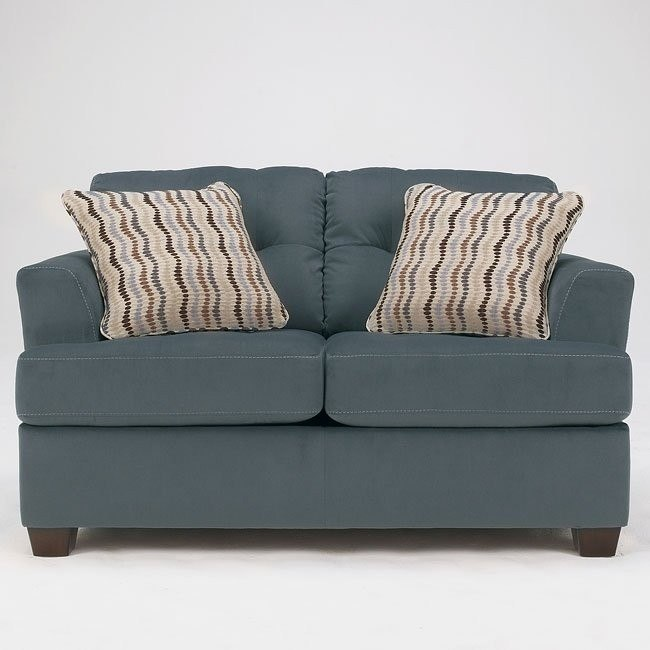 Dallas - Steel Loveseat