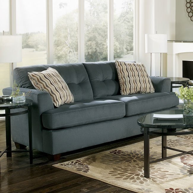 Dallas - Steel Queen Sofa Sleeper