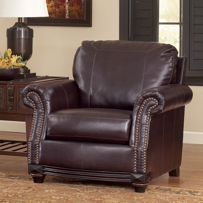 Collinsworth Place DuraBlend - Burgundy Chair