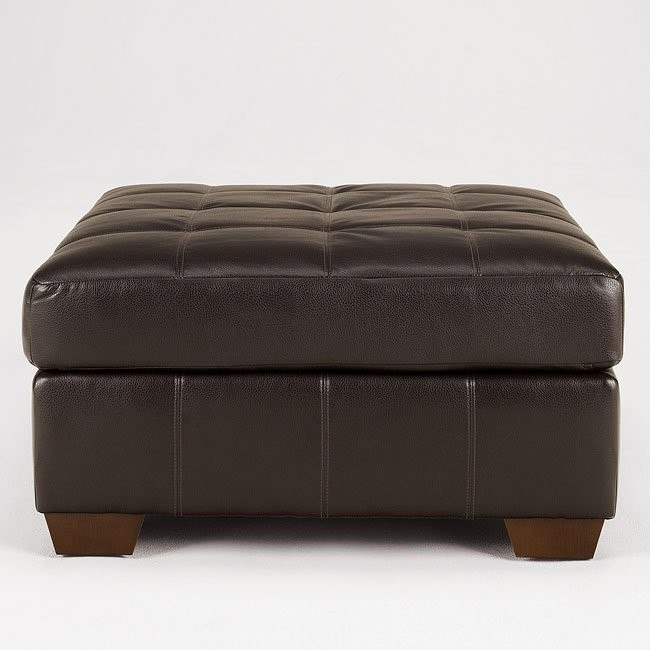 San Marco - Chocolate Oversized Accent Ottoman