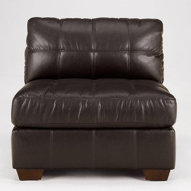 San Marco - Chocolate Armless Chair