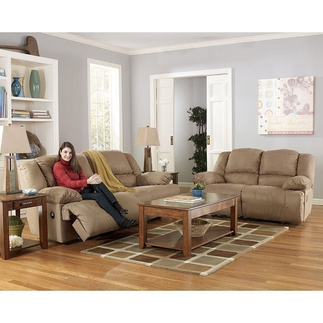 Hogan - Mocha Reclining Living Room Set