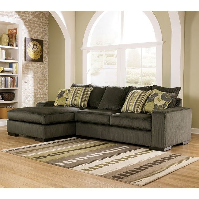 Freestyle - Pewter Left Facing Chaise Sectional