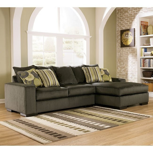 Freestyle - Pewter Right Facing Chaise Sectional