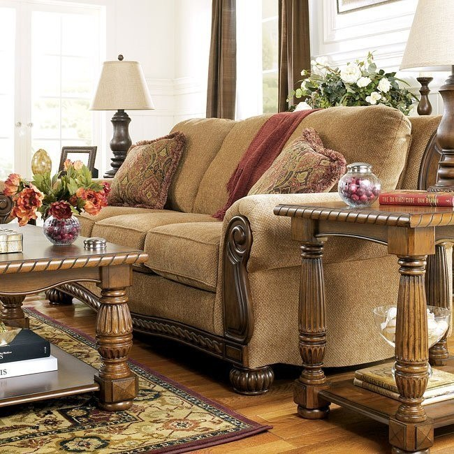 Burnham - Amber Living Room Set