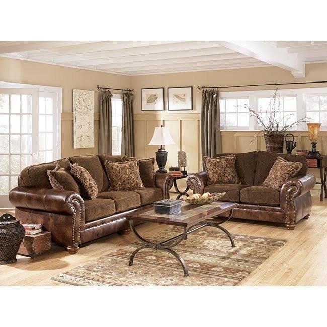 Harrington - Truffle Living Room Set