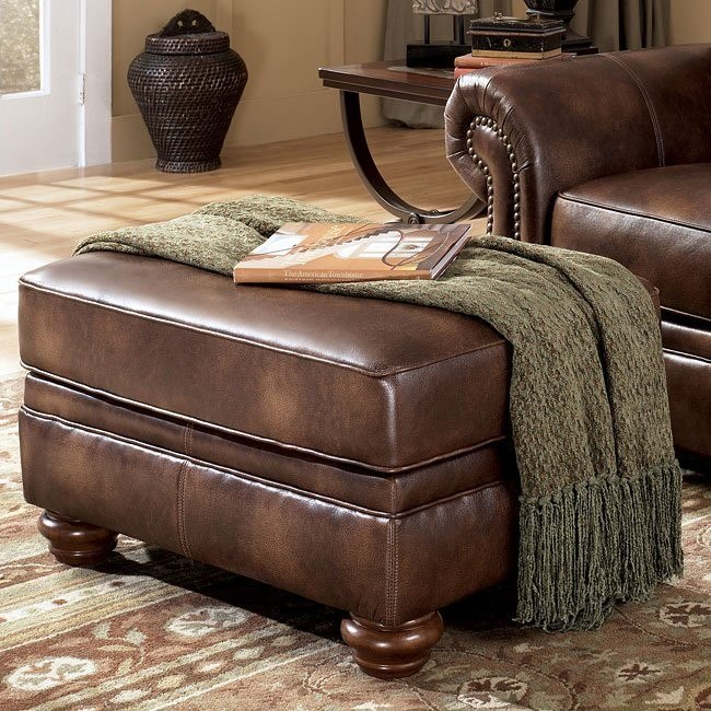 Harrington - Truffle Ottoman