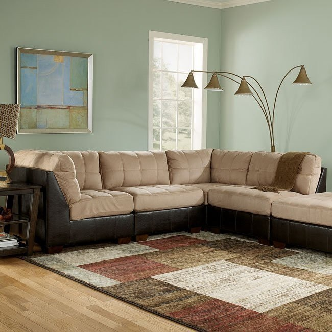 Gable - Mocha Modular Sectional
