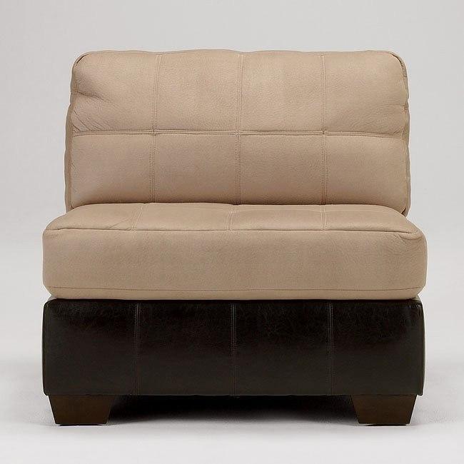 Gable - Mocha Armless Chair
