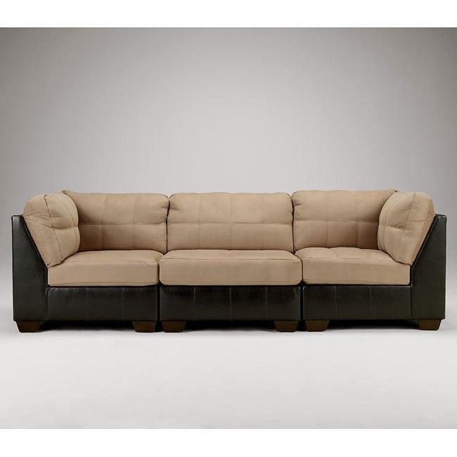 Gable Mocha Sofa Signature Design By