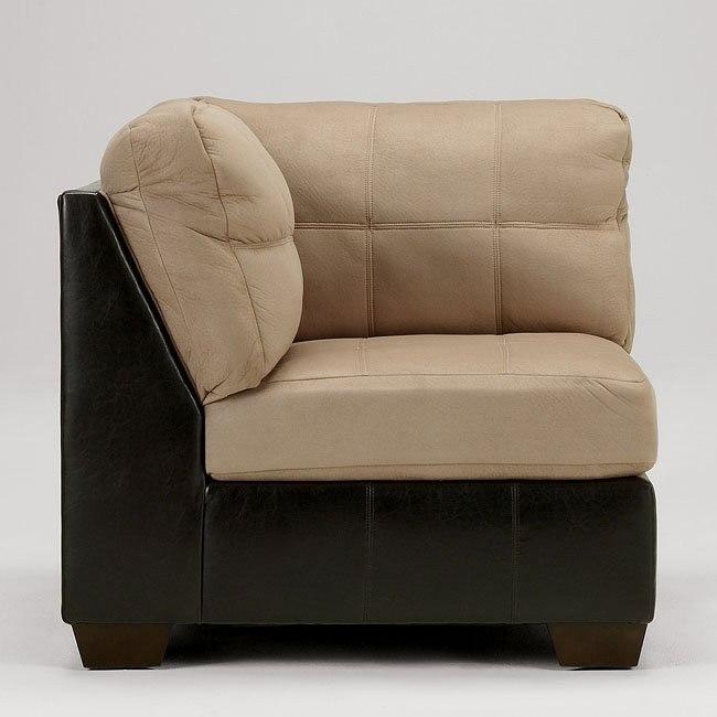 Gable - Mocha Corner Chair
