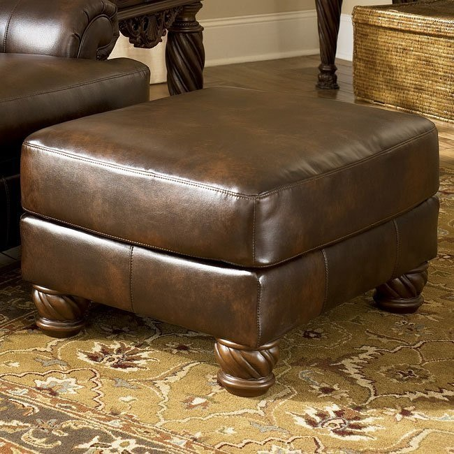 Fresco DuraBlend - Antique Accent Ottoman