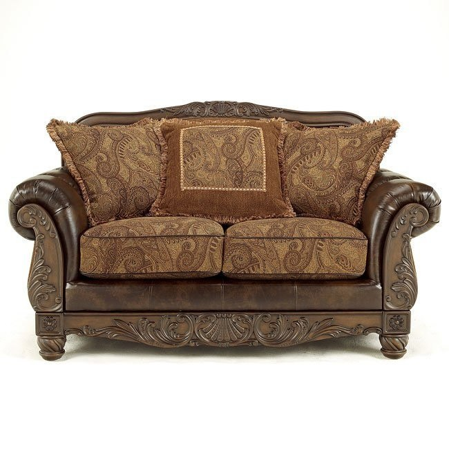 Fresco DuraBlend - Antique Loveseat